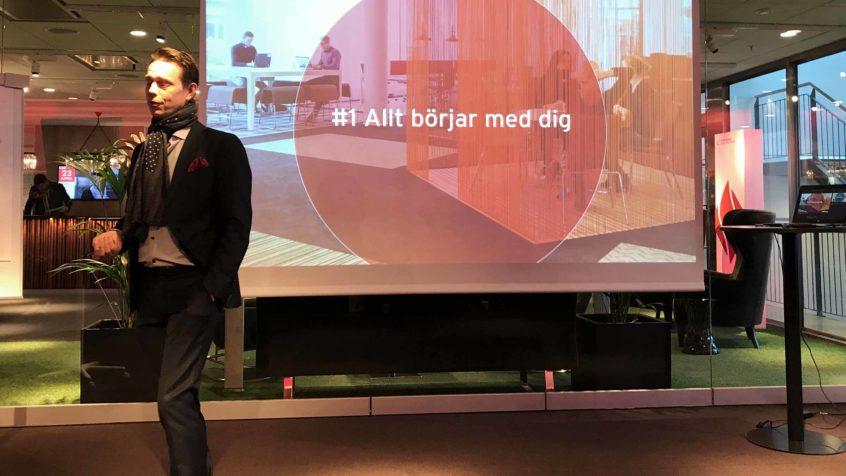 Torbjörn Eriksson VD Tenant & Partner föreläser Allt börjar med dig